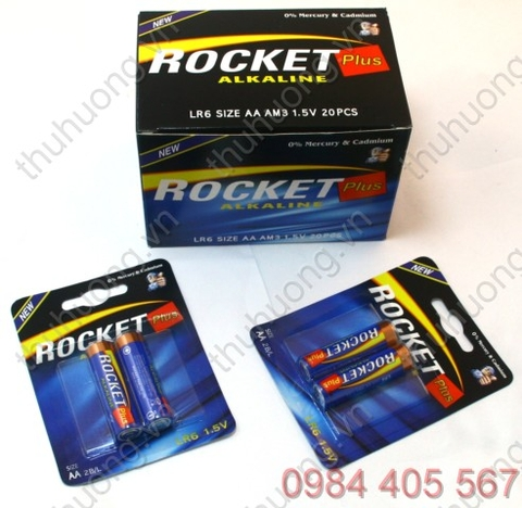 Pin tiểu AA vỉ - ROCKET AM3-LR6