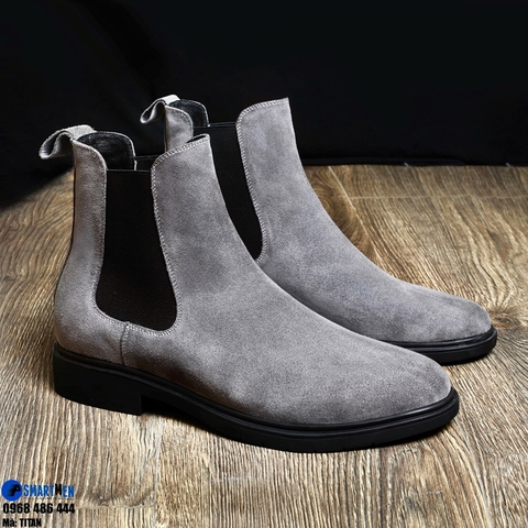 CHELSEA BOOT TITAN GREY