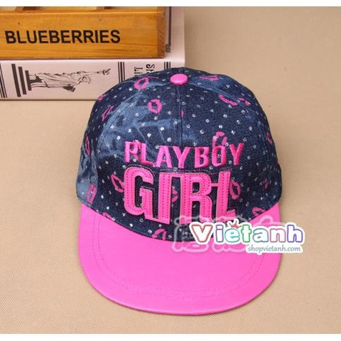 MH 55 Mũ Hiphop Play Boy Girl