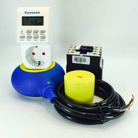 Sơ đồ đấu phao điện tự động bơm nước cho máy bơm 3 pha