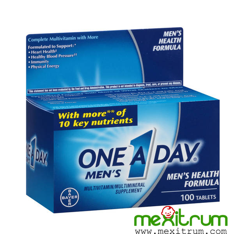 One A Day Men's Multivitamin Health Formula 100 viên