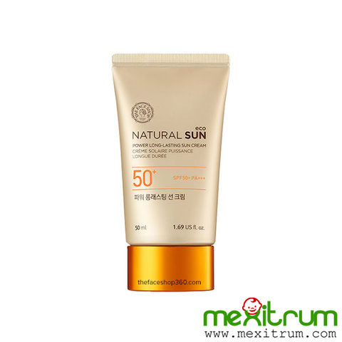 Kem Chống Nắng NATURAL SUN ECO POWER LONG-LASTING SUN CREAM SPF50+ PA+++