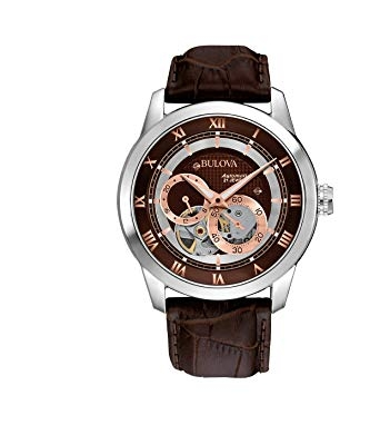 Đồng hồ nam Bulova Men's 96A120 BVA Series Dual Aperture Dial Watch  42mm