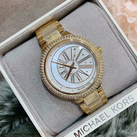 Đồng hồ Michael Kors MK6550 Taryn Mother of Pearl Dial Ladies Watch