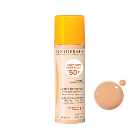 Kem Chống Nắng Bioderma Photoderm Nude Touch SPF50+