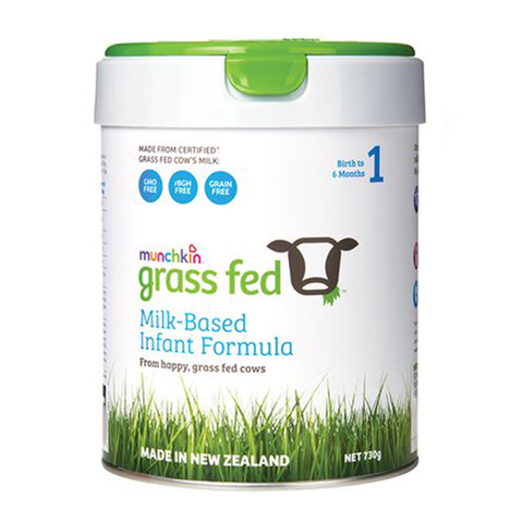 Sữa Munchkin Grass Fed Milk-Based Infant Formula Stage 1 730g