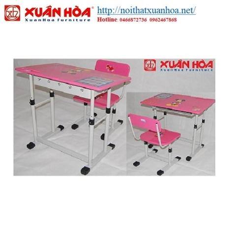 Bàn học sinh Xuân Hòa BHS-13-05PU-hồng