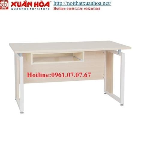 Bàn vi tính chân sắt Xuân Hòa BVP-13-00B