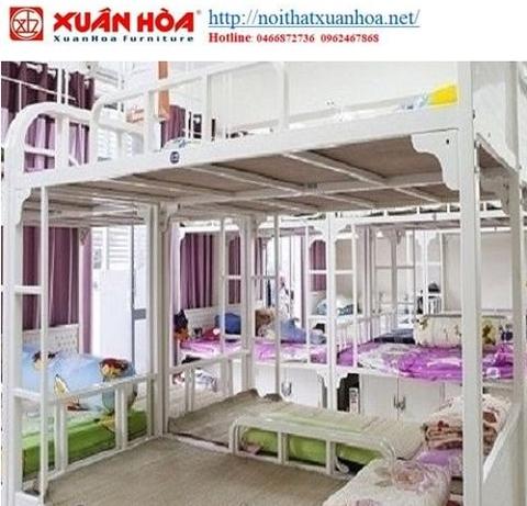 Giường tầng sắt Xuân Hòa GI-04-01
