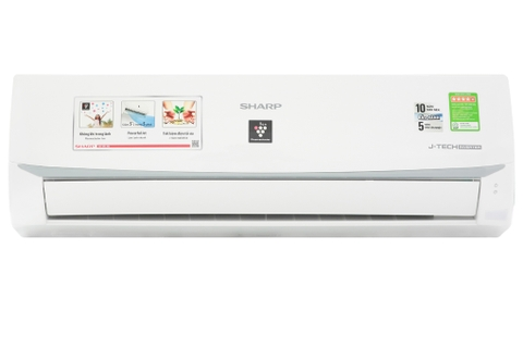 Máy lạnh Sharp Inverter 1.0HP AH-XP10WMW