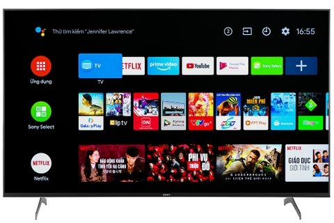 Android Tivi Sony 4K 55inch KD-55X9000H - Đen