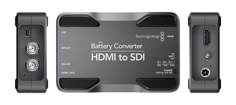 Battery Converter HDMI to SDI