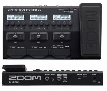 Zoom Multi effects Processor with Expression Pedal G3Xn