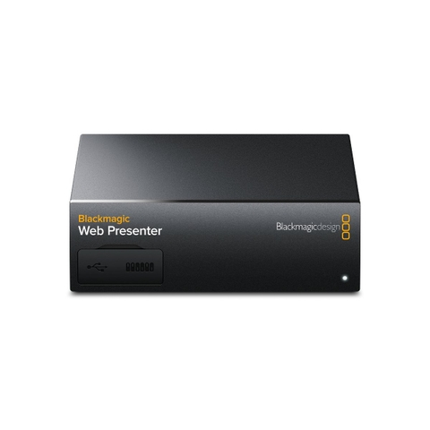 Blackmagic Web Presenter + Teranex mini smart Panel