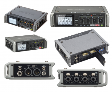 Zoom MultiTrack Field Recorder F4