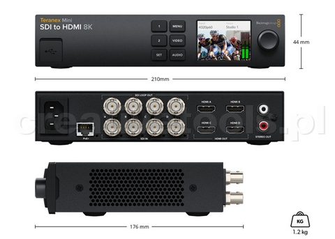 BlackMagic Teranex Mini SDI to HDMI 8K