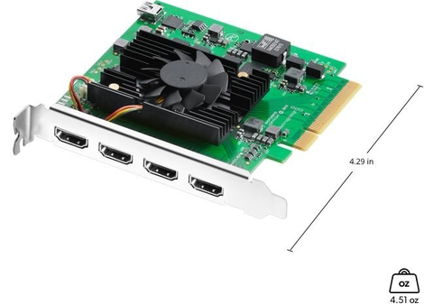 Blackmagic Decklink Quad​ HDMI Recoder