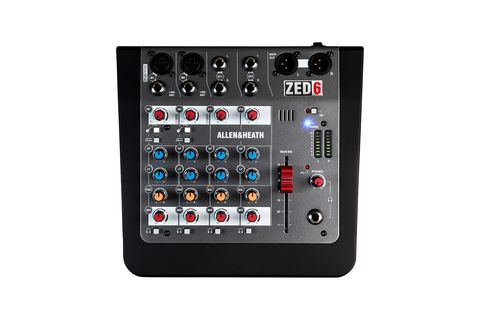 Mixer  Allen Heath ZED 6