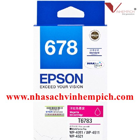 Mưc in Epson T6783 Magenta Ink Cartridge (WP4091)