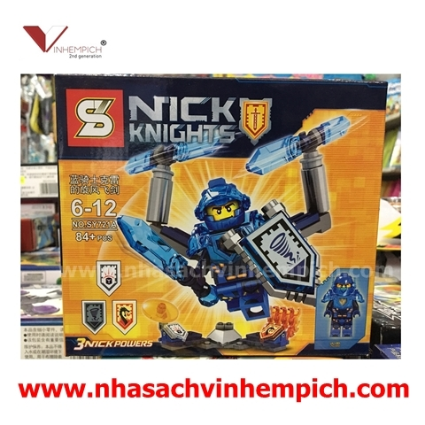 NEXO KNIGHTS - NICK POWERS - SY721A