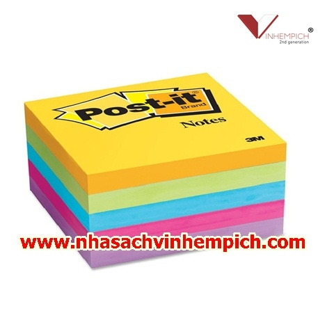 GIẤY NOTE 5 MÀU POST-IT 3M 3X3