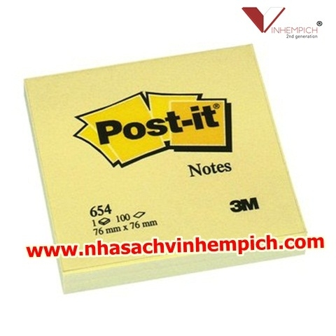 GIẤY NOTE VÀNG POST-IT 3M 3X4