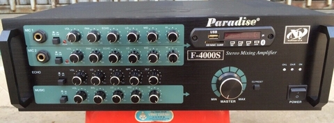 Amply Paradise F4000s, 600w, Bluetooth