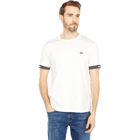 Áo Lacoste Graphic Tee – Trắng