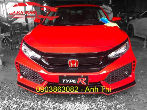 BODY KIT HONDA CIVIC 2017-2018 | TYPE R THÁI