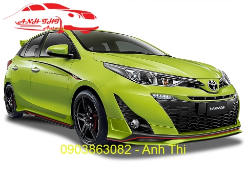 BODY KIT NEW TOYOTA YARIS 2019 THÁI LAN | MẪU 2
