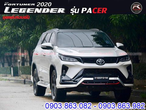 Body Kit xe Toyota Fortuner Legender 2021 Mẫu FreeForm Thái