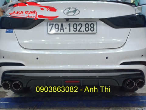 ĐỘ PÔ AKRAPOVIC ON/OFF XE HYUNDAI ACCENT 2018