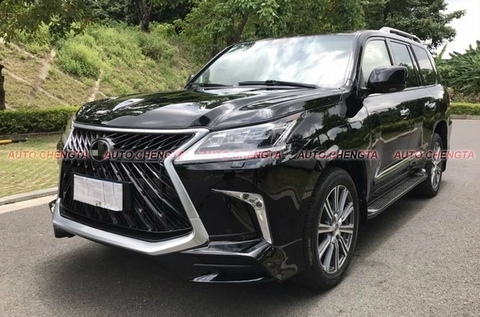 Nâng Đời Xe Lexus LX570 2008-2015 Up To 2020 SuperSport