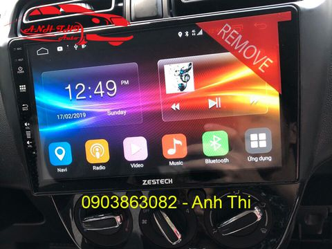 DVD ANDROID ZESTECH CHO XE ATTRAGE 2018 | Z900