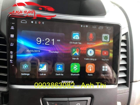 DVD ANDROID ZESTECH CHO XE FORD RANGER 2019 | Z800