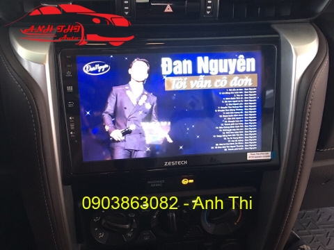 DVD ANDROID CHO XE TOYOTA FORTUNER 2019 | ZESTECH Z800