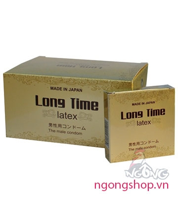 Bao cao su Long Time Latex 3s
