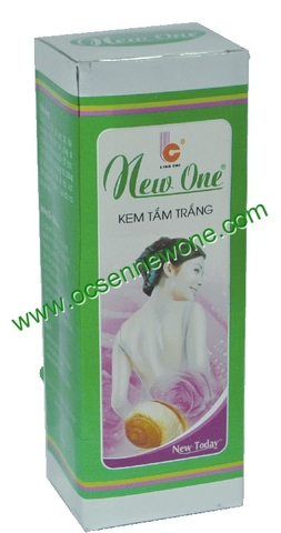 Kem Tắm Trắng New One Linh Chi-NW051