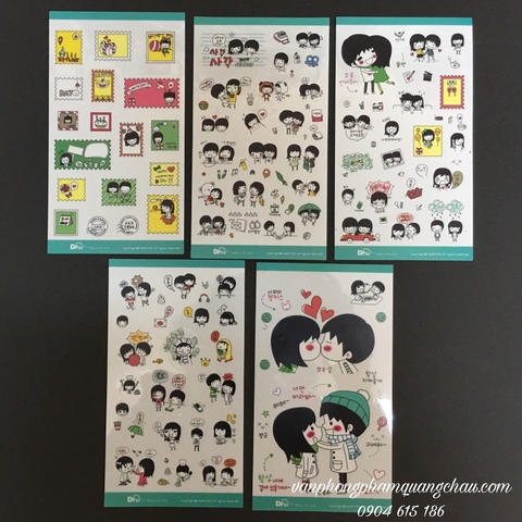 STICKER COUPLE_S163