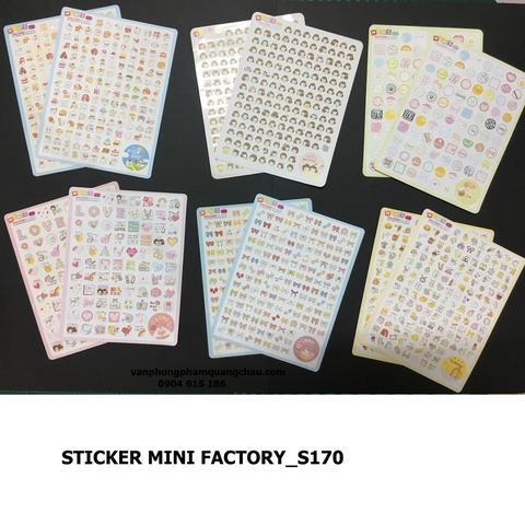 STICKER MINI FACTORY_S170