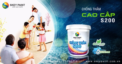 CHỐNG THẤM CAO CẤP S200