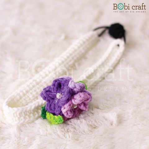 Floral Headband - Purple/Multi