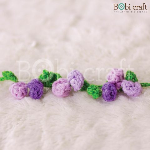 Floral Bracelet - Purple/Multi