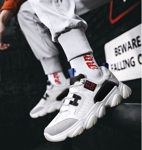 Giày Sneakers Nam STCG WHITE GN274
