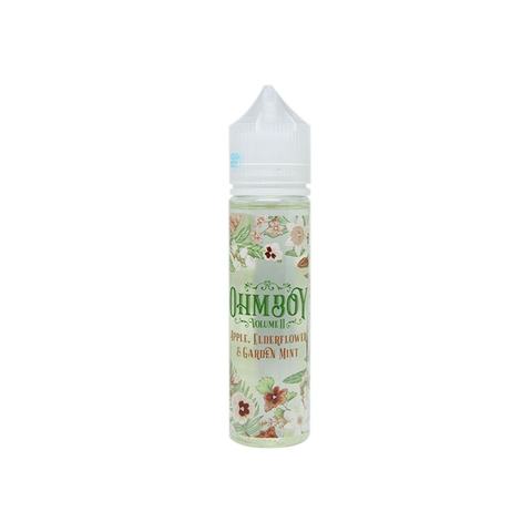 Apple, Elderflower & Garden Mint by OhmBoy (60ml) (Táo hoa elder bạc hà)