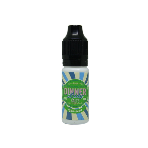 Apple Sours Salt Nic by Dinner Lady (10ml) (Kẹo táo chua)