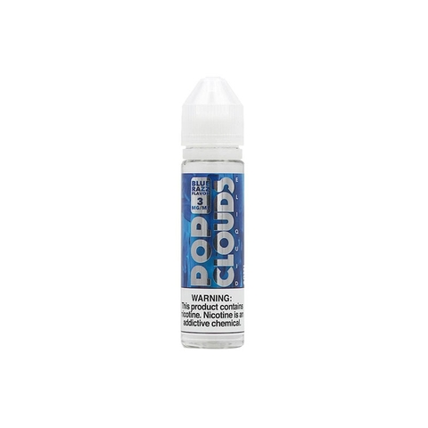 Blue Razz Flavor by PoP Clouds (60ml) (Kem mâm xôi xanh)