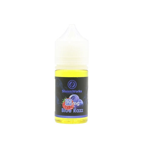 Blue Razz Salt Nic by Steam Works (30ml) (Mâm xôi lạnh)