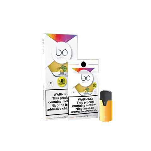 Bo Caps Gold Tobacco by Bo Vaping