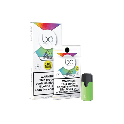Bo Caps Icy Mint by Bo Vaping